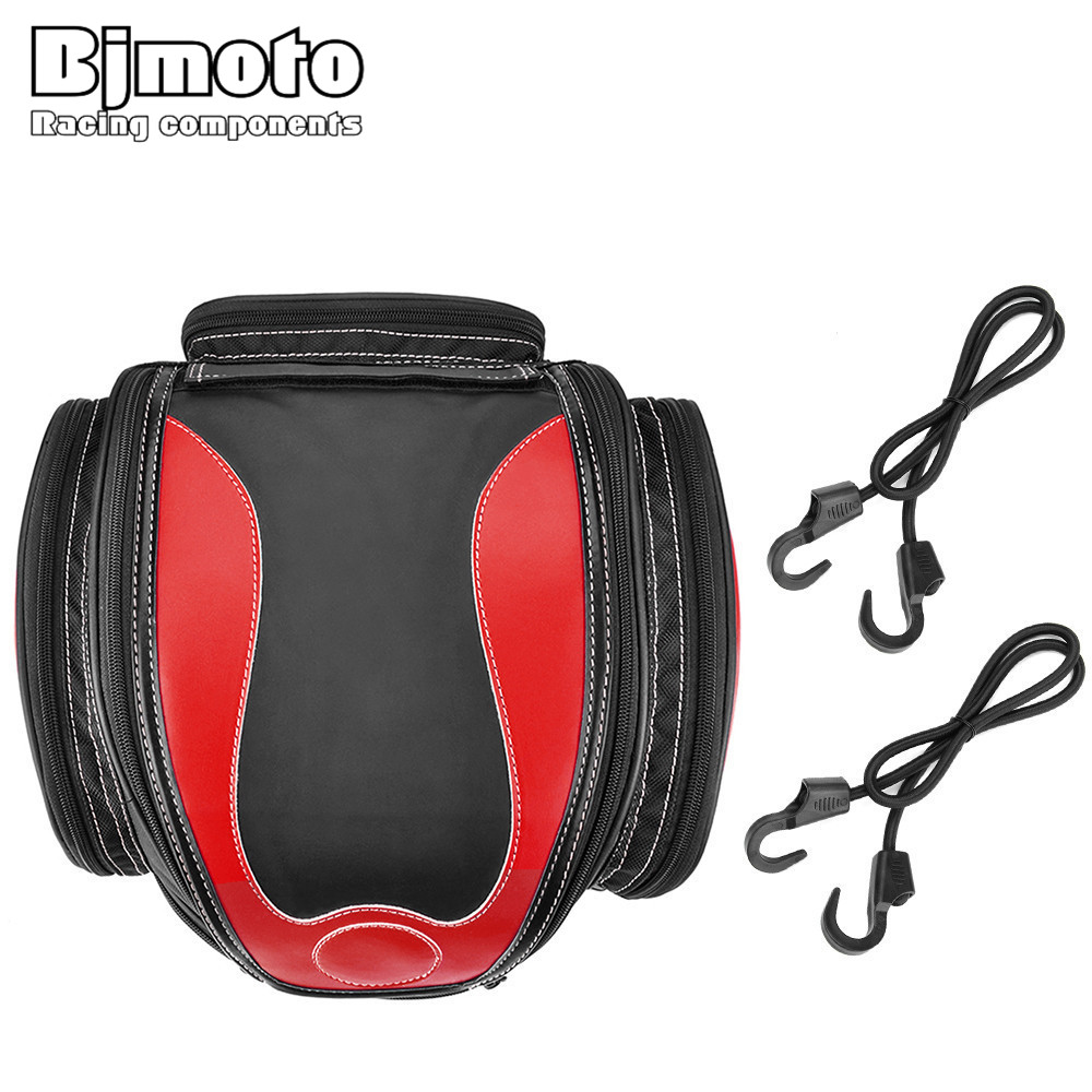BJMOTO NEW Saddle Bags Motorcycle Bag Waterproof Moto Tank Bag Hot High Quality Motocicleta Racing Oil Tank Tail Bags free shipping 2018 uglyuros motorcycle retro back seat bag 883modified car multi function kit bag moto bag with waterproof cover