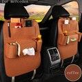 Para mercedes benz w203 w204 w211 ML300 cinza preto vermelho único Cabide de Armazenamento De Multi Bolso de pelúcia Tampa de Assento Do Carro de Volta Saco Organizador
