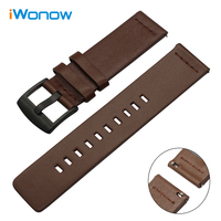 Italy Oil Leather Watchband Tool For Certina Victorinox Quick Release Watch Band Steel Buckle Strap Wrist