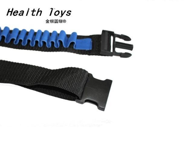 Синие детские игрушечный пистолет пуля плечевой ремень Дартс боеприпасы хранения держатель Пейнтбол для NERF игрушки
