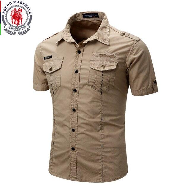 Chemise dété pour homme, 2019 coton solide, à la mode, décontracté, 100%, décontracté, chemise de grande taille