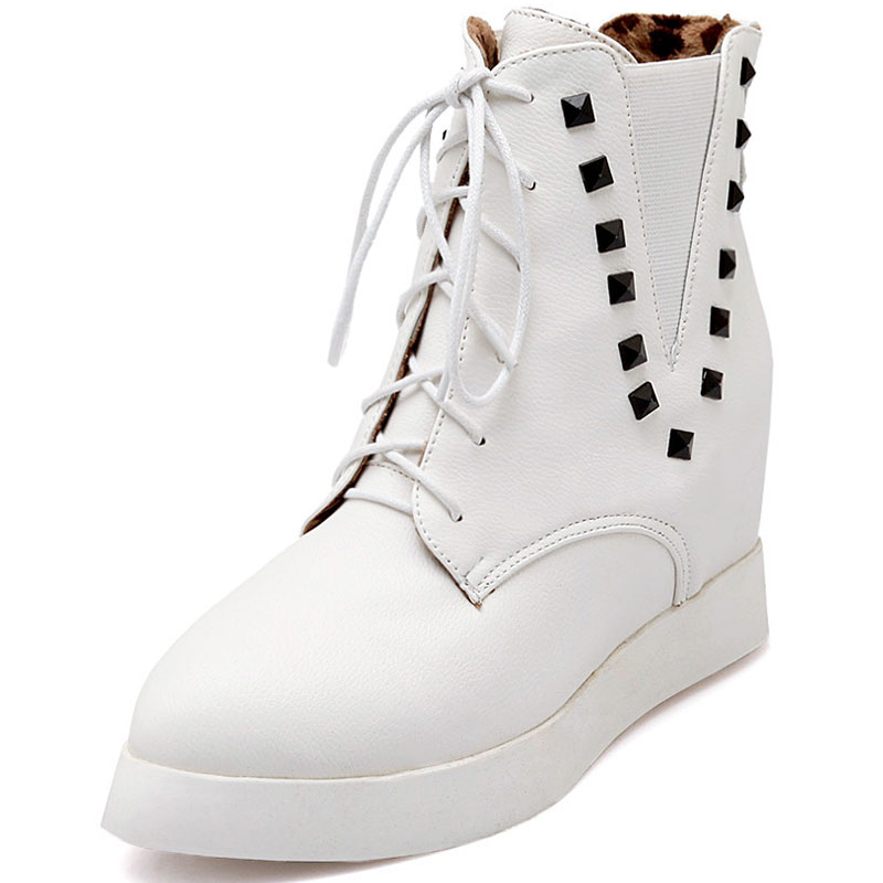 Online Get Cheap White Wedge Boots -Aliexpress.com | Alibaba Group