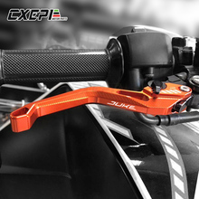2019 New LOGO DUKE Motorcycle Accessories For KTM 790 DUKE 790 790DUKE 2018 2019 CNC Motorbike Adjustable  Brake Clutch Levers for ktm 790 duke 790duke 2018 motorcycle brake clutch levers adjustable folding extendable brake lever motor accessories parts