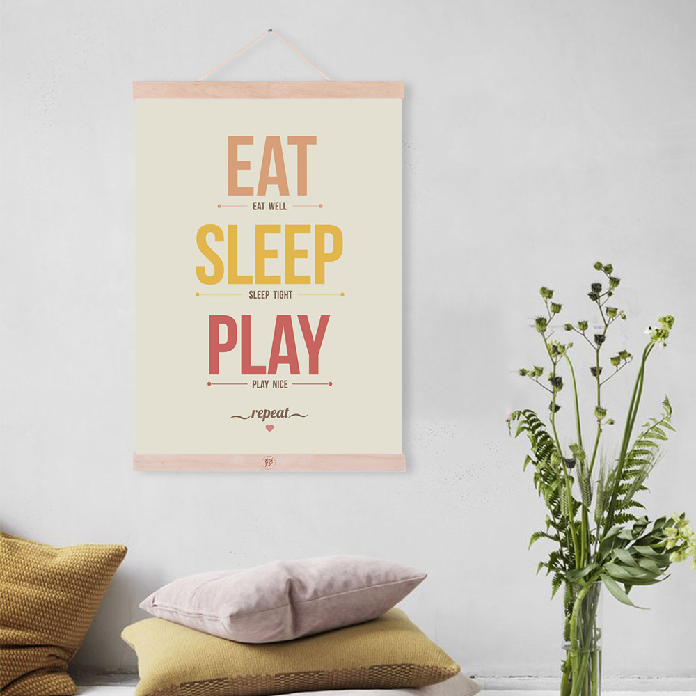 Vintage Style Kids Room: Vintage Inspitational Quotes Posters Prints Nordic Style