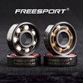 Rodamientos FreeSport 608 Rolo Inline Skate ABEC9 Rolamentos Cerâmicos Híbridos Para Tri-Spinner Fidget Brinquedo Mão Spinner