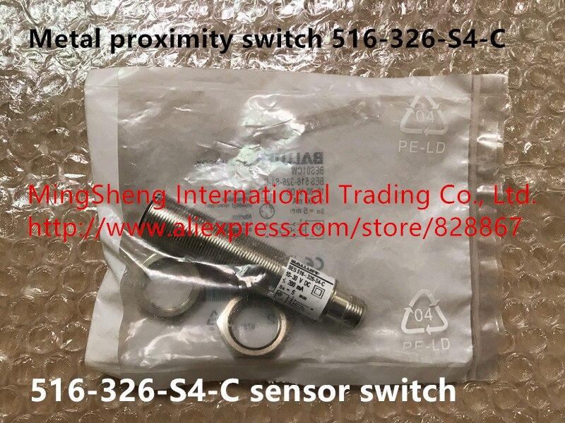 Original new 100 metal proximity switch 516 326 S4 C sensor switch
