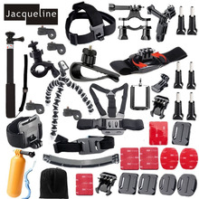 Jacqueline for Ion Air Accessories Kit for Sony Action Cam AS200V AS50 FDR-X1000V W 4K HDR-AS30V AS20 HDR-AS100V HDR-AZ1 Mini
