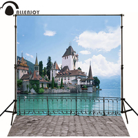10 20feet 300 600CM Photography Background Villa Blue River Background Studio Free Shipping