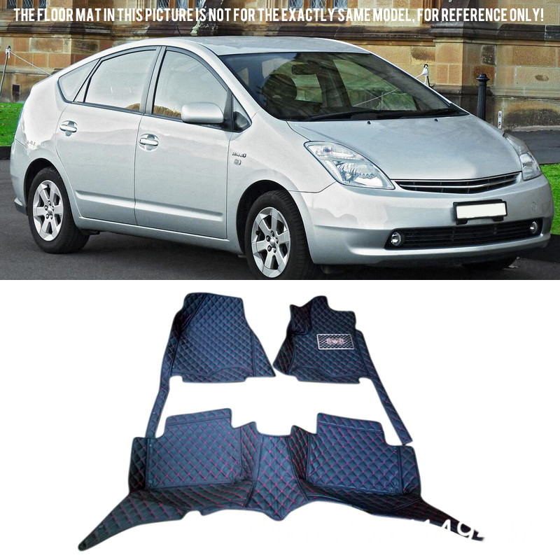 for Toyota Prius XW20 2004-2009 Interior Custom Waterproof Car Styling Front & Rear Floor Mats Carpets цена