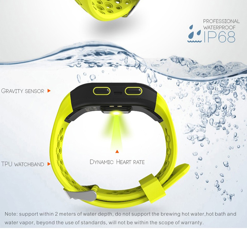 FROMPRO GPS Bracelet S908 Fitness Smart Wristband Dynamic Heart Rate IP68 Waterproof Smart Band G03 Tracker Smartband Watch