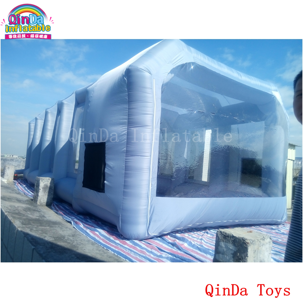 10m*5m*3.5m inflatable spray booth for car painting,used portable paint booths for car akg pae5 m