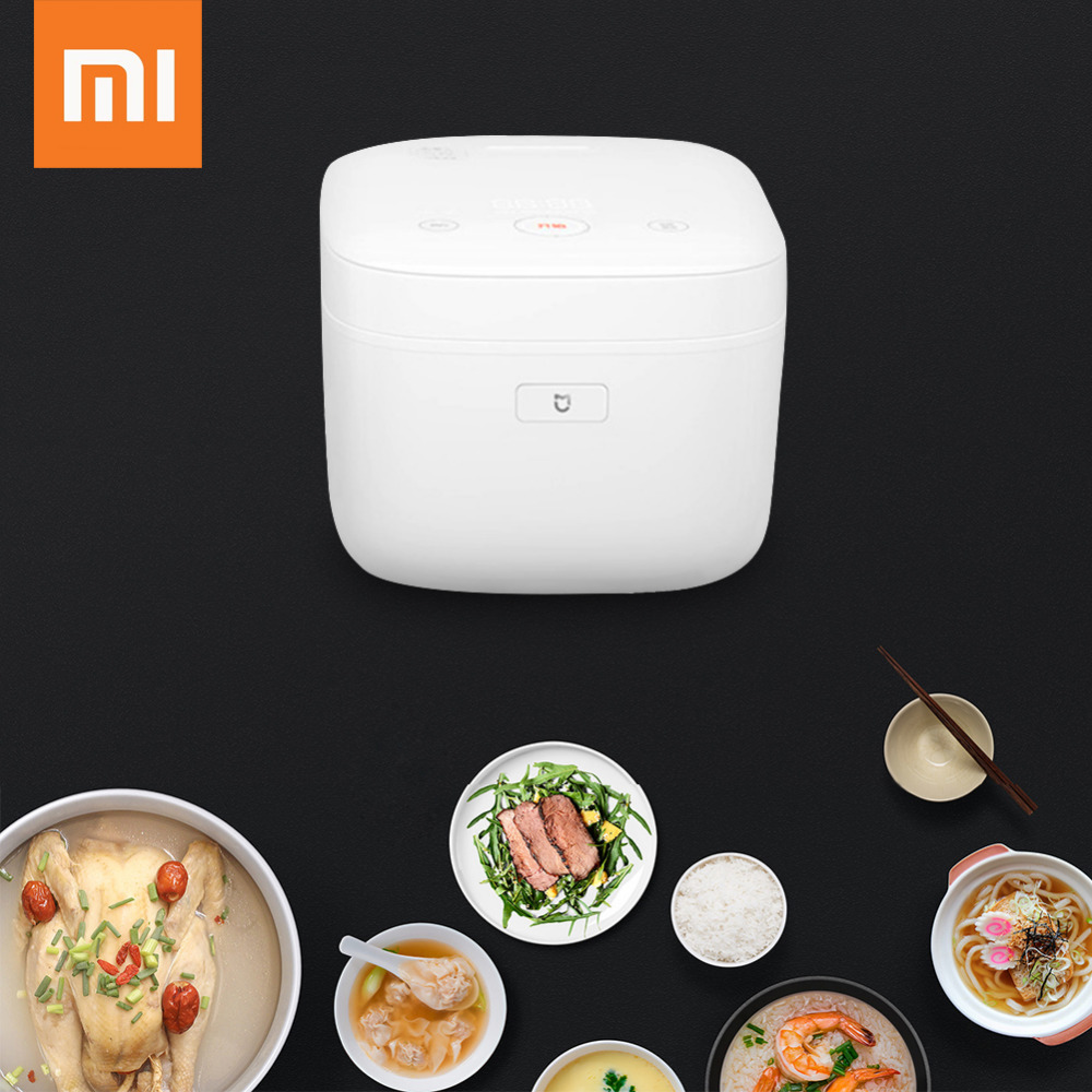 Xiaomi IH Electric Rice Cooker Miji 3L4L Alloy Cast Iron Smart Heating Pressure Cooker Mi Home APP WiFi Remote Control (5)