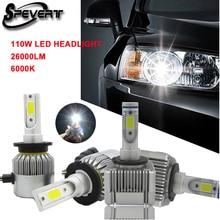 SPEVERT Upgrade D1S D3S / D2S  D4S LED Car Headlight Bulb Replace Xenon HID Fog light 110W 26000LM 6000K Auto Headlamp 12v 24v