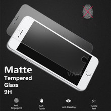 цена на Premium REAL Matte Frosted Touch Tempered Glass Screen Protector Guard Skin For iPhone 4 4S 5 5S 5C SE 6/6S Plus 7/ 7Plus