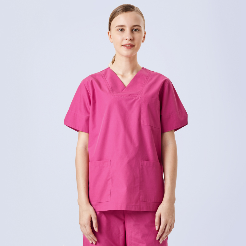 Medical Scrub Unisex Hospital Top Surgical Doctor Operating Vets Medical Tunic
