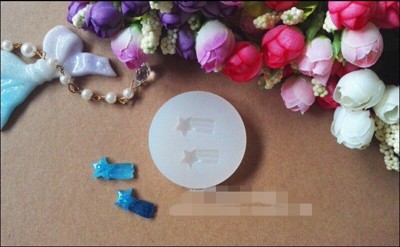 1 Pièces Météore Liquide Silicone Moule Bricolage Résine Bijoux Pendentif Collier Pendentif Lanugo Moule Résine Moules Pour Bijoux