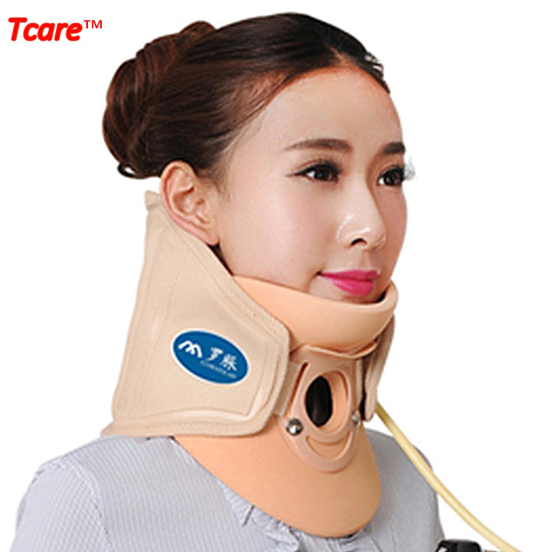 Tcare Health Care Air Traction Neck Support Brace Neck Pain Release Therapy Device Neck Cervical Vertebra Corrector schubert neck traction device physical therapy for neck cervical traction health care apparatus