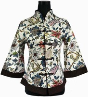 2014Spring Women S Multicolor Linen Jacket V Neck Coat Outwear Chinese Style Top Tang Suit Size
