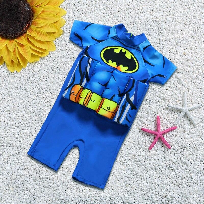 c4d14e04ab5d Cute Kid Boy Children One Piece Buoyancy Swimsuit Swim Vest Detachable Float  Swimwear Protect for kids