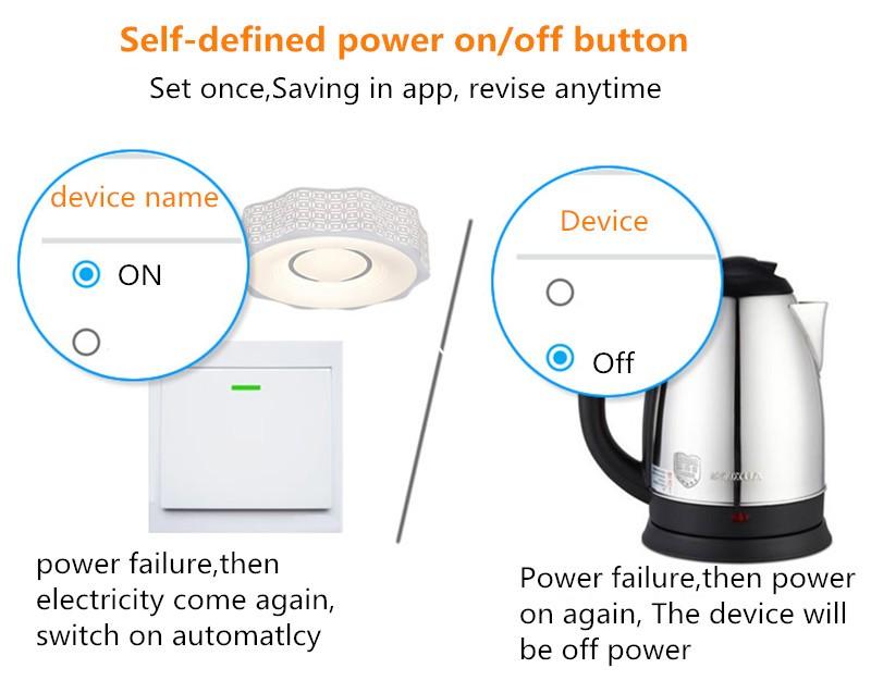 Itead Sonoff Inteligentny Wifi Przełącznik Czasowy Inteligentny Uniwersalny Bezprzewodowy Przełącznik DIY MQTT COAP Android IOS Zdalnego Sterowania Inteligentnego Domu 7