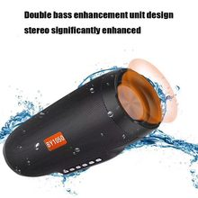 NBY 1050 Bluetooth speaker Portable Wireless Loudspeakers For Phone Computer Stereo Music surround Waterproof Outdoor Speakers