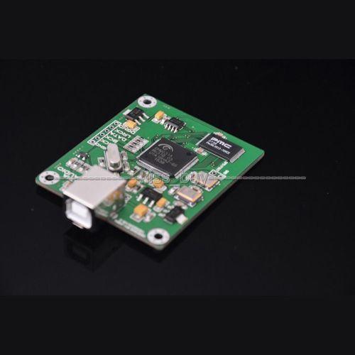CM6631A บอร์ด DAC ดิจิตอลการ์ดอินเทอร์เฟซ USB IIS เอาต์พุต SPDIF 24Bit 192 พัน 384 พัน ASIO