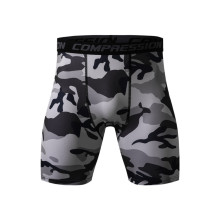 Mens Compression Shorts 2016 Summer Camouflage Bermuda Fitness Men Cossfit Bodybuilding Tights Camo