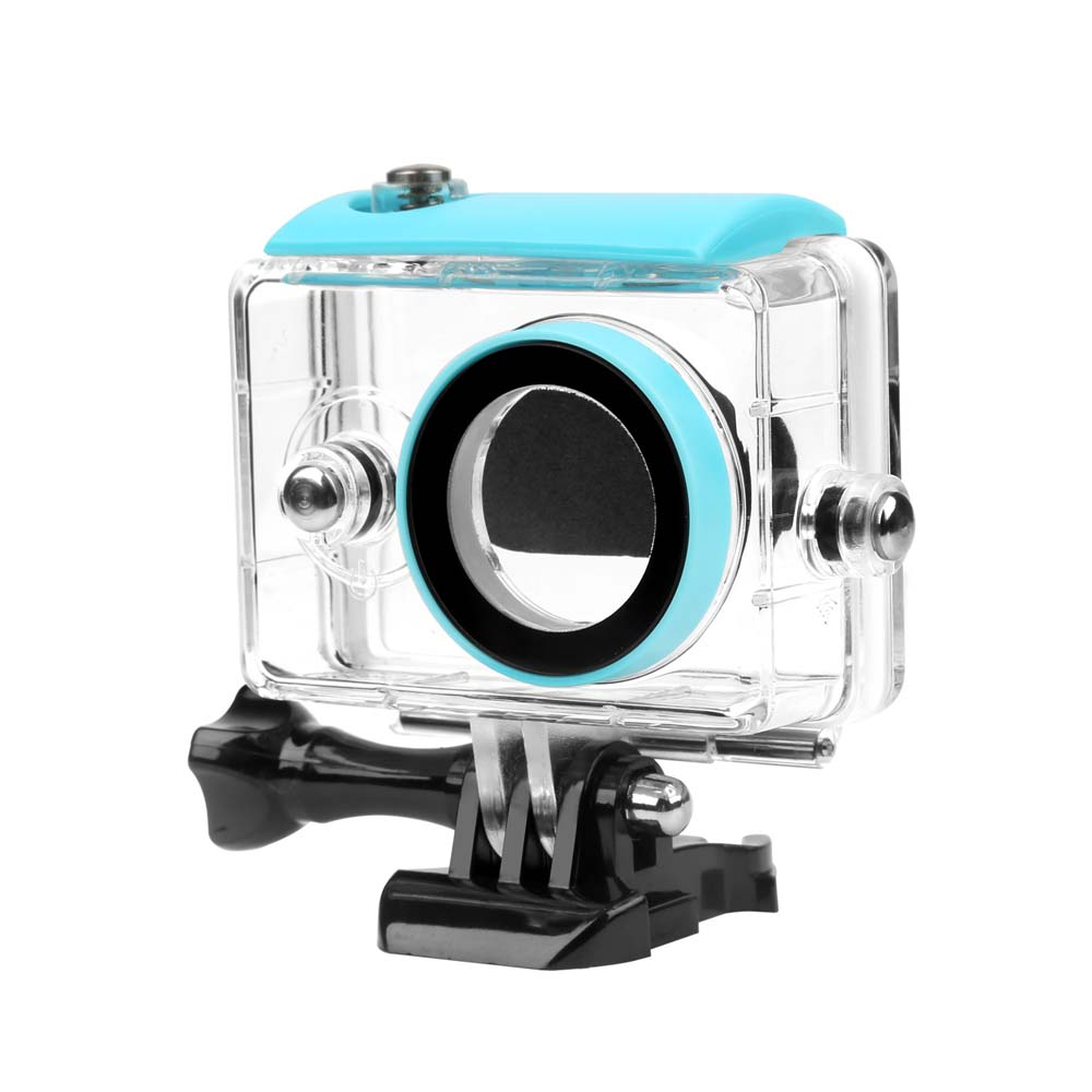 SHOOT 40M Waterproof Housing Case For Xiaomi Yi 2K Xiaoyi Xiayi Action Camera Xiaomi Yi Case Yi Accessories cp a216 lock buckle for xiaomi yi waterproof housing