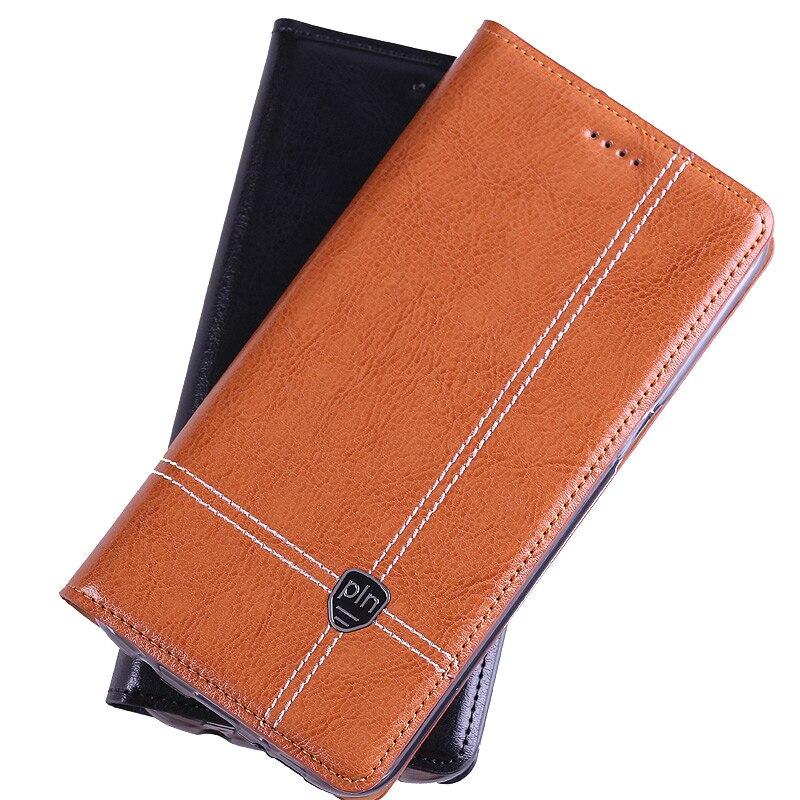 bilder für Für Microsoft Nokia Lumia 540 Fall Abdeckung, Crazy Horse Flip Echtes Leder-kasten-abdeckung Für Microsoft Lumia 540 Compact Telefonkasten