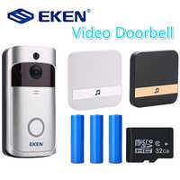V5 Smart IP vidéo interphone WI-FI porte téléphone sonnette WIFI sonnette caméra pour appartements IR alarme sans fil caméra de sécurité