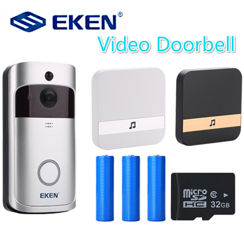 V5 Smart IP Video Intercom WI-FI Door Phone Door Bell WIFI Doorbell Camera For Apartments IR Alarm Wireless Security Camera