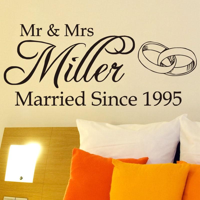 Mr & Mrs Wall Decor - Wall Decor Ideas