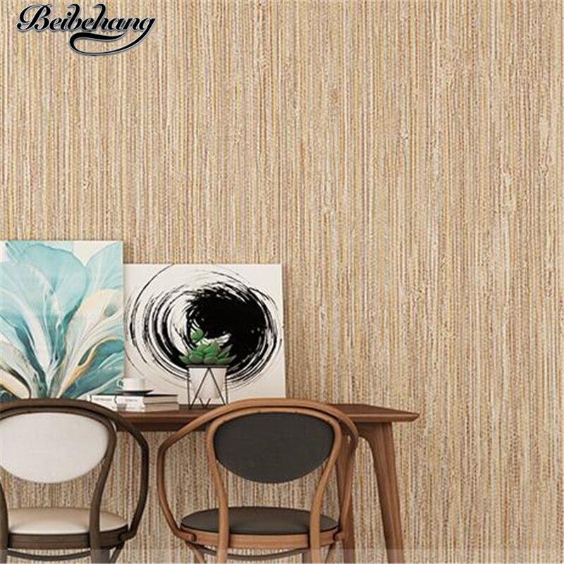 beibehang Nonwovens Wallpaper Imitation Pure Color Paint Wallpaper Living Room Bedroom TV Background Wallpaper papel de parede beibehang imitation wooden wallpaper floor living room wallpaper bedroom sofa television background wallpaper papel de pared page 1