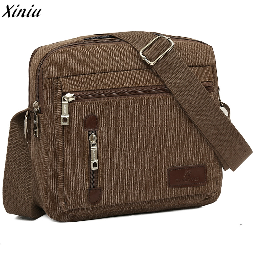 Men Bag Vintage Business Messenger Bags Solid Color Canvas Retro Shoulder Crossbody Bag Male Handbag Sacoche Homme #9725 high quality canvas men messenger bags small crossbody bags sacoche homme satchels bolsas men travel shoulder bag handbag ls1202