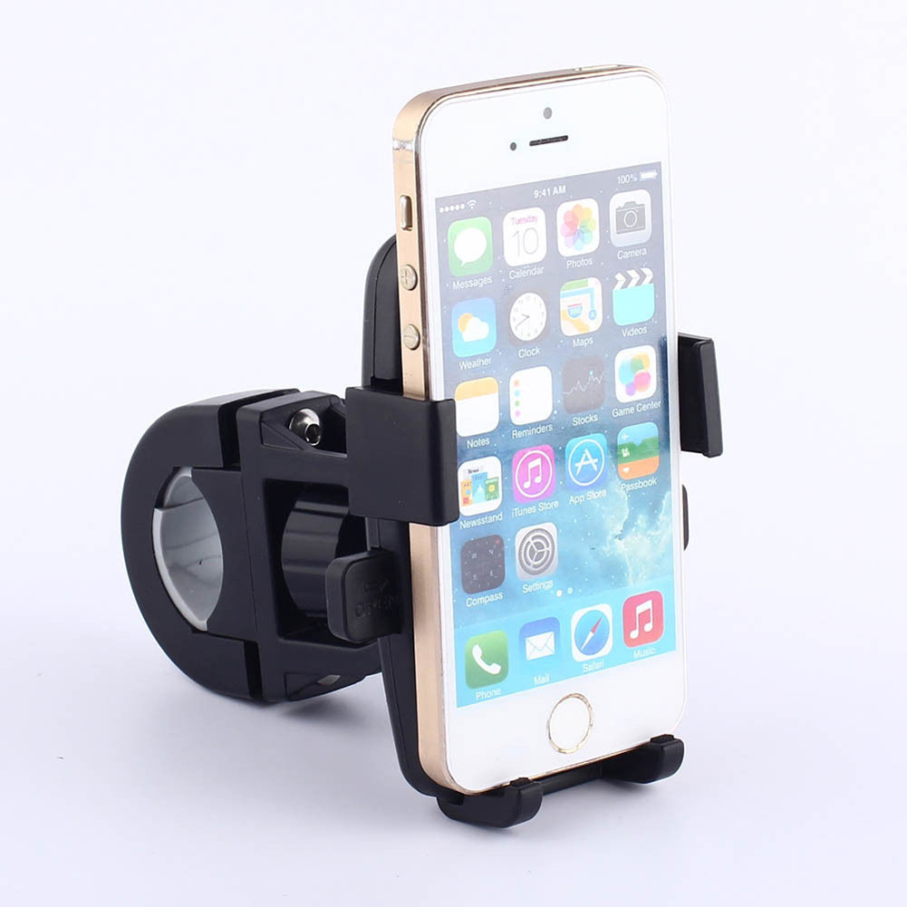 Bike Handlebar Mobile Phone Holder Universal Motorcycle Bicycle Handlebar Mount Holder For Cell Phone GPS Bicycle Accessories купить в Москве 2019