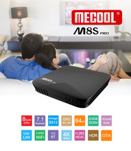MECOOL Android 7.1 TV Box M8S PRO procesor Amlogic S912 Octa rdzeń 2 GB DDR4 16 GB ROM 2.4G/ 5G WiFi do udostępniania wideo 4 K sieci TV Box(China)