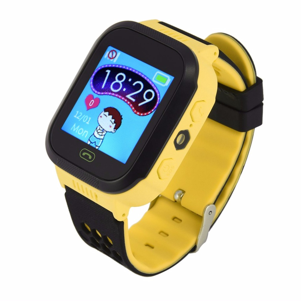 Children Kids Study Play Touch Screen Smart Watch Outdoor Tracker SOS Monitoring Positioning Watch Remote Flash Kids Wristwatch