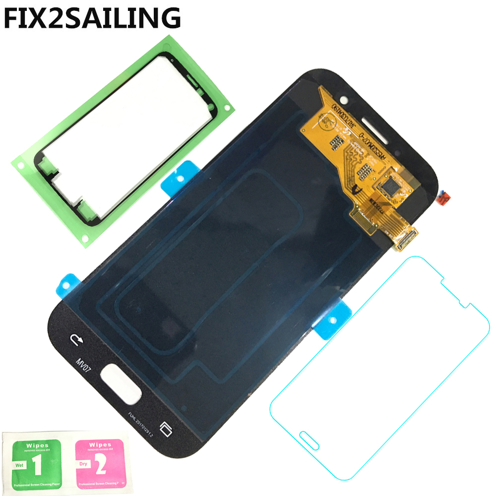 FIX2SAILING Super AMOLED LCD Display 100 Tested Working Touch Screen Assembly For Samsung Galaxy A5 2017