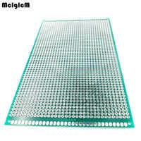 1 Uds 9x15 cm PCB prototipo 2 capa 9*15CM tablero universal doble lado 2,54 MM verde