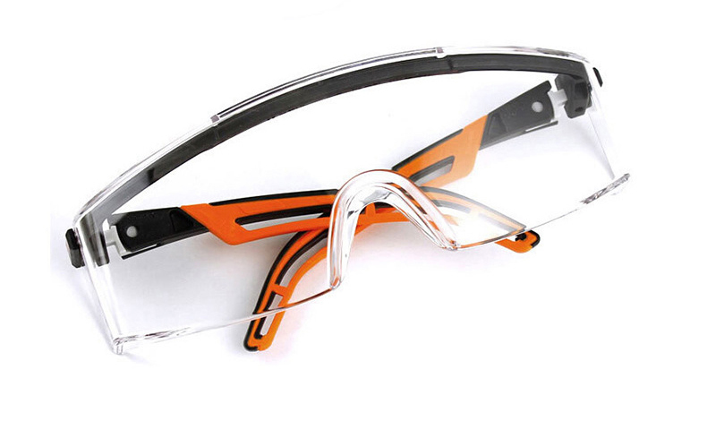 UVEX Safety Goggles Transparent Anti-fog Anti-impact Protective Eyeglasses Working Riding Anti-Sand Windproof Labor Goggles (18)