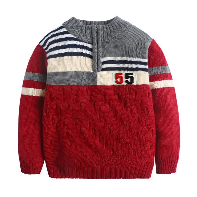 Hot clothing for baby boys knitted sweater spring autumn Baby wear brand kids boy winter cardigan Sweaters sporting clothes