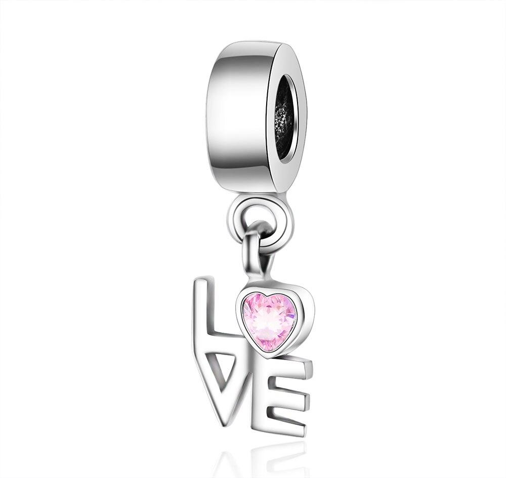 pandora charms originales plata amor