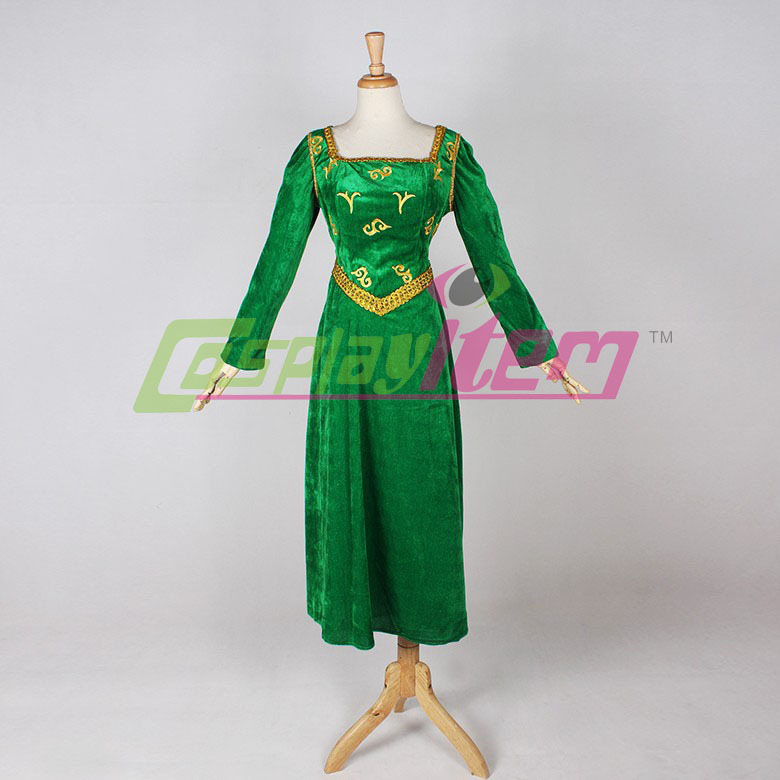 Made Prinses Jurk Film Fiona Custom Kostuum Shrek 3jA54RLq