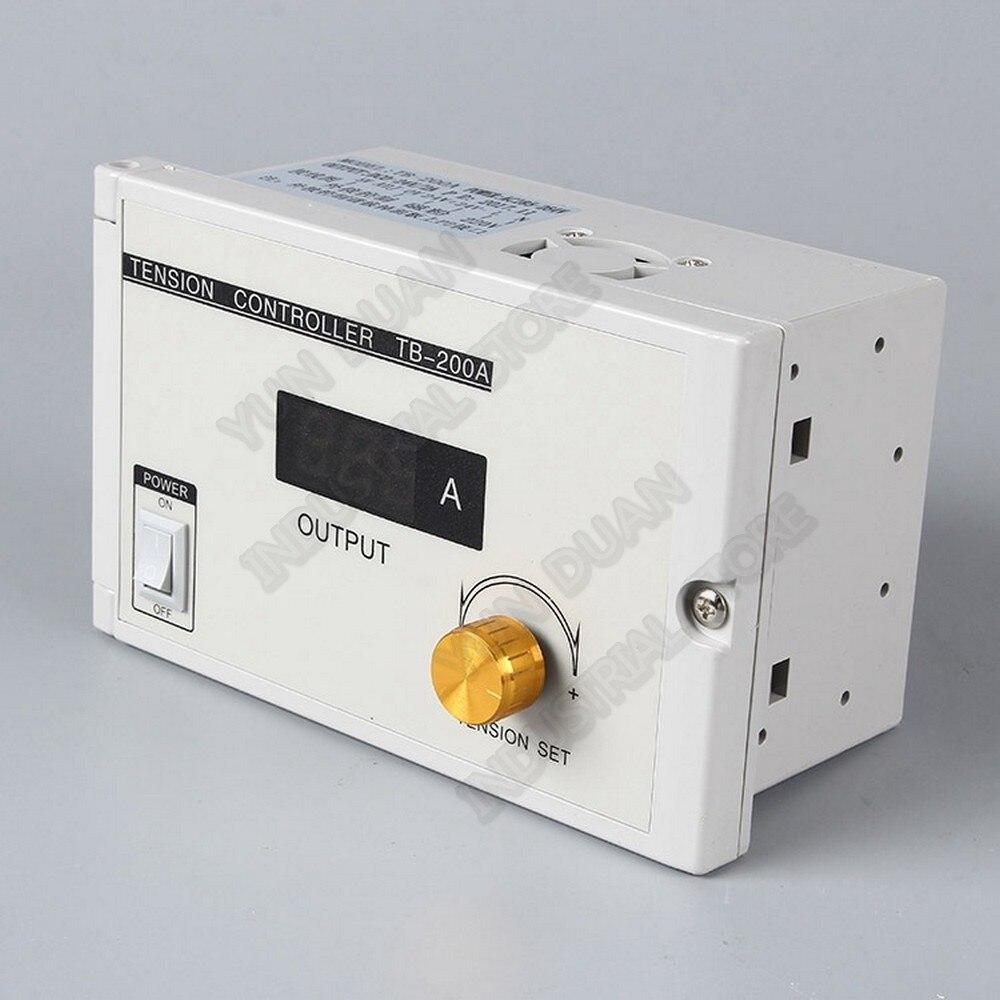 Manual Digital Tension Controller 185V 265VAC 220V 24V DC Output 0 3A Magnetic Powder Brake Clutch
