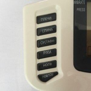 Image 4 - JR309 new Tiếng Nga hoặc Tiếng Anh nút Điện Stimulator Full Body Thư Giãn Cơ Bắp Therapy Massage, Pulse hàng chục Châm Cứu + 16 pads