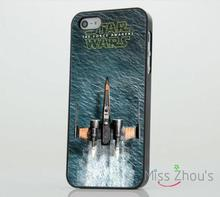 Star Wars The Force Awakens Movie back skins mobile cellphone cases for iphone 4 4s 5