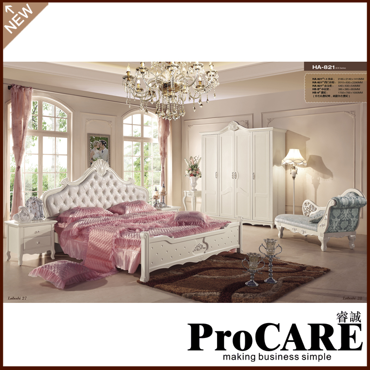 Popular Romantic Bedroom Furniture