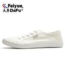 DafuFeiyue été respirant toile chaussures coton lin tissu confortable décontracté hommes femmes baskets mode 2019 nouveau 719