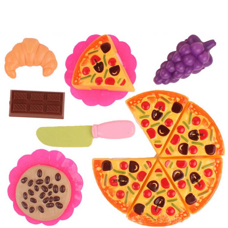 juguetes de cocina fruta fiesta de pizza de comida rpida rebanadas de corte juegos de imaginacin