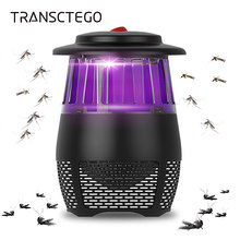 Lámpara eléctrica para matar mosquitos Led Muggen taza Killer Anti Mosquito trampa repelente Lámpara USB Bug Zapper Fly Watter Luz(China)